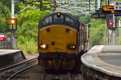 37606 DRS Paisley Gilmour Street 19/08/2015