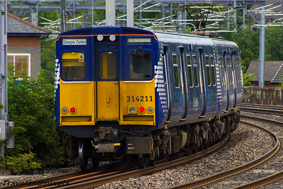314211 Scotrail Paisley Gilmour Street 12/08/2015