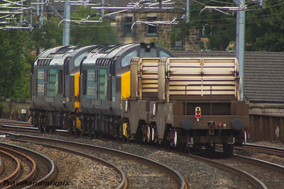 37606, 37259 DRS Paisley Gilmour Street 19/08/2015
