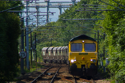66546 Freightliner Paisley Gilmour Street 13/08/2015