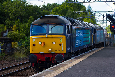 57004, 57002 DRS Paisley Gilmour Street 16/09/2015