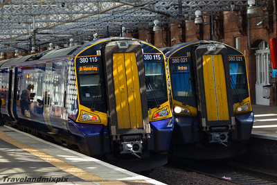 380115, 380021 Scotrail Paisley Gilmour Street 16/09/2015