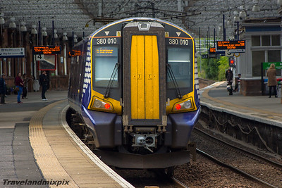 380010 Scotrail Paisley Gilmour Street 02/09/2015