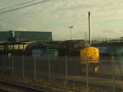 37194 in the yard at Carlisle Kingmoor Depot