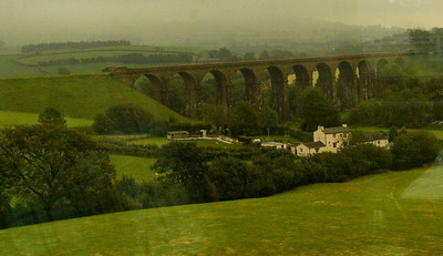 Lowgill Viaduct on the Lancaster & Carlisle Railway from Lowgill to Ingleton