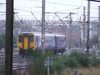 156472 departing Preston on a service for Blackpool North