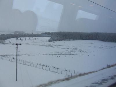 Passing through Cumbria to the South of Carlisle
