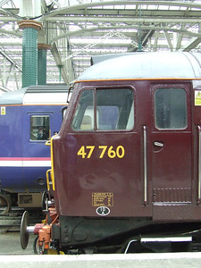 47760 at P11 of Glasgow Central