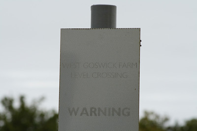 West Goswick Farm Level Crossing