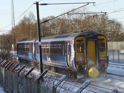 156506 passing through Elderslie on a service to Stranraer
