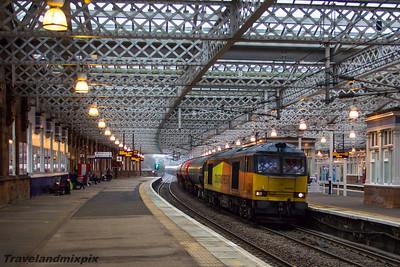 60002 Colas Rail Paisley Gilmour Street 21/01/2016
