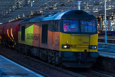 60002 Colas Rail Paisley Gilmour Street 15/01/2016