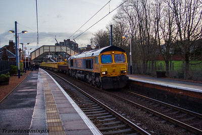 66704 Colchester Power Signalbox GB Railfreight Johnstone 04/02/2016