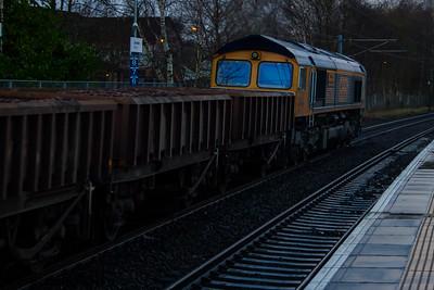 66704 Colchester Power Signalbox GB Railfreight Johnstone 02/02/2016