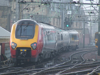 Unbranded 221118 on a service to Birmingham New Street. This was one of the units that operated with Arriva CrossCountry between November 2007 and December 2008