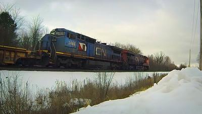 Friday Shorts - Blue Devil CN IC-2466 - Railfanning Canadian National