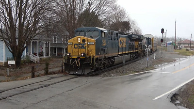 CSX Street Running Through LaGrange, Kentucky