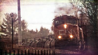 Broken Radio - Two Trains - CN 2236 Track Warrant - Railfanning Waupaca Wisconsin