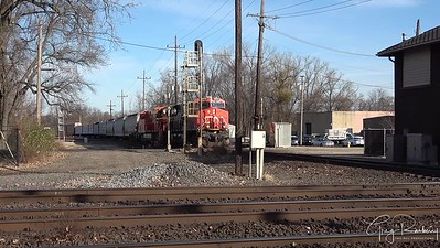 Friday Shorts - Herzog Ballast Train | West Chicago CN Tower- Railfanning Canadian National