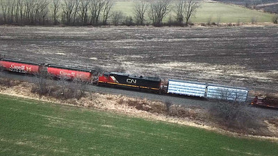 Friday Shorts - CN Multi Shot Manifest - Railfanning Wisconsin