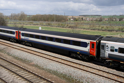 4 April. Mark 3 Trailer First vehicle 41068 at Bromham