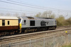 10 April. Executive 67029 Royal Diamond passes the camera at Bradwell with the VSOE Victoria - Runcorn in connection with the Grand National.