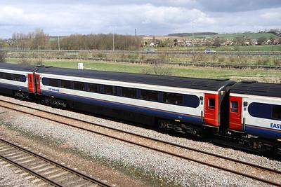 4 April. Mark 3 Trailer Standard vehicle 42119 at Bromham.
