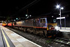 3 April. Another view of 66412 complete with headboard at Bedford, journey's end.