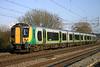 19 February. Desiro 350106 at Chelmscote working the 1513 Euston - Northampton.