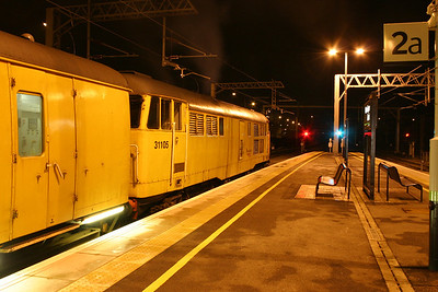 18 January. Another view of 31105 awaiting the off.