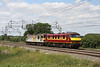 3 July. A light engine move from Wembley - Crewe sees 92042 Honegger towing 90020 Collingwood past Chelmscote.