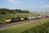 11 June. 70001 Powerhaul passes Portway  working the 1413 Felixstowe - Lawley Street.