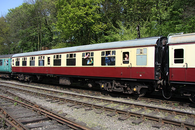 15 May. Mark 1  vehicle 25729 at Shackerstone.