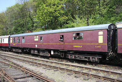15 May. Mark 1 Griddle Car 1104 at Shackerstone.