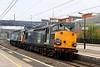 14 May. Having deposited 12084 into Wolverton Works, 37038 leads 47790 Galloway Princess through Wolverton heading light to Crewe Gresty Bridge.