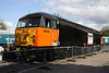 15 May. Although it never carried this livery in service, 56098 looks the part in Loadhaul livery at Shackerstone.