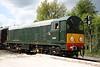 15 May. Class 20, D8007 at Rushcliffe Halt on the rear of the 1100 Ruddington - Loughborough.