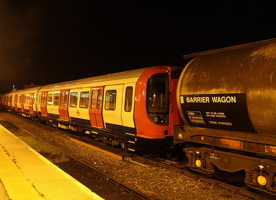 27 October. A view of the new underground stock at Banbury.