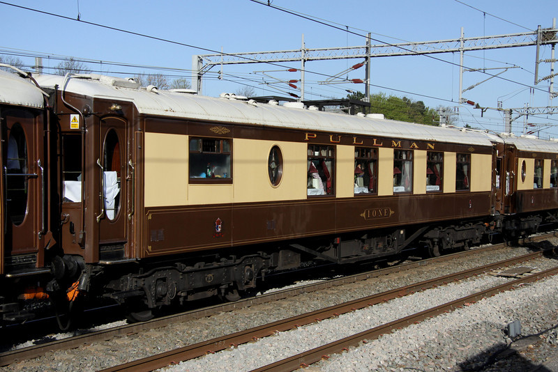 9 April. Built in 1928, this is Pullman Kitchen First vehicle 255 IONE at Milton Keynes.