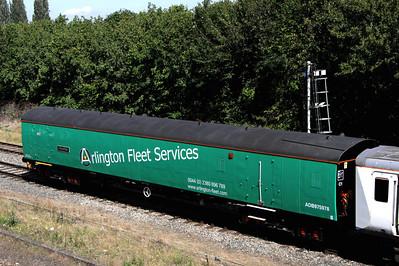 19 August. Mark 1 Arlington barrier vehicle 975978 Perpetiel at Banbury.