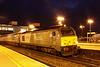 28 January. 67012 A Shropshire Lad hauls the penultimate northbound WSMR working at Banbury, the 1J83 1630 Marylebone - Wrexham General.