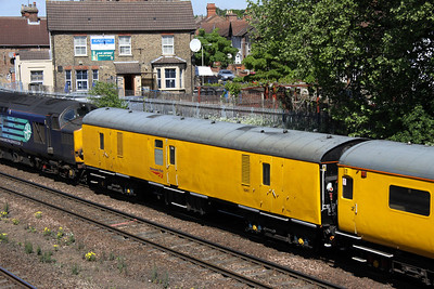 2 May. Mark 1 Generator vehicle 6261 passing Bedford North Junction.