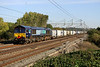 14 October. 66432 works the 4M71 1053 Tilbury - Daventry past Chelmscote.