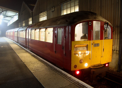 16 October. Ready for another day shuttling between Ryde Pier Head and Shanklin, 483004 sparks into life in platform three at Ryde St Johns Road.