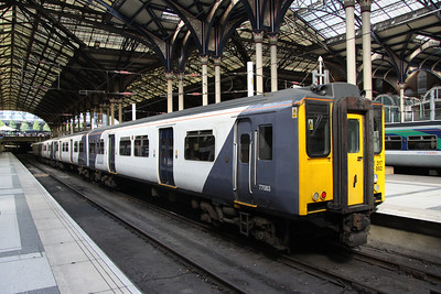 3 September. 317892 Ilford Depot departs Liverpool Street on the 1542 to Hertford East.