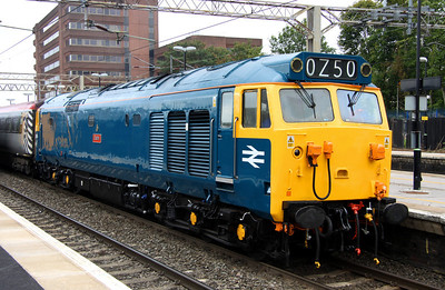 3 September. 50044 Exeter prepares to leave Watford running 15 minutes down.