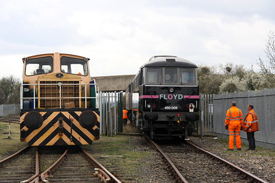 3 April. Hungary here we come as FLOYD 5 exits Long Marston with 01552 alongside.