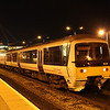 2 February. Trying to disguise itself, 165019 sits silently at Aylesbury.