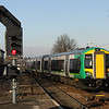 11 February. 172331 leaves Stourbridge Junction with the 1455 to Stratford upon Avon.