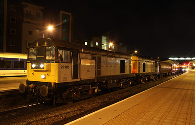 12 January. A broader view of 7X09 at Aylesbury.